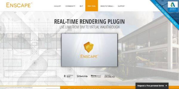 Enscape – Free and paid 3D assets