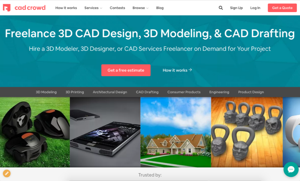 Freelance Engineering Services and Consulting on Cad Crowd