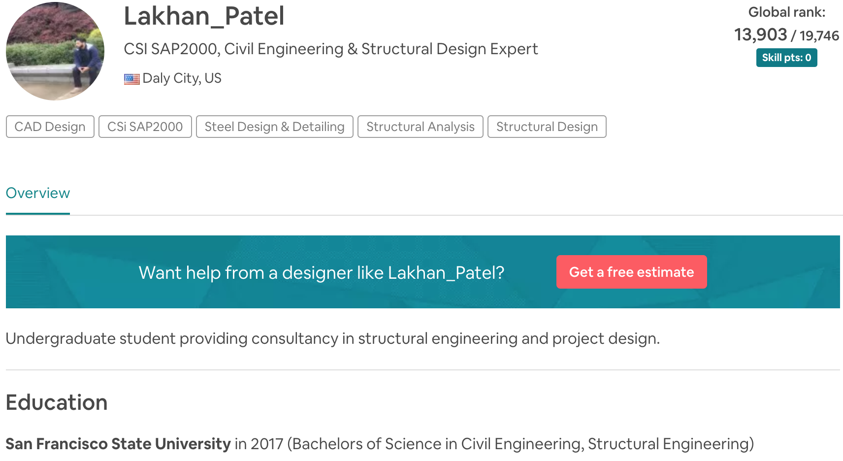 Lakhan_Patel CSI SAP2000, Civil Engineering & Structural Design Expert
