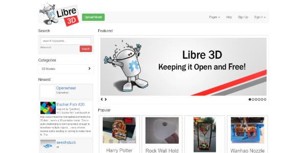 Libre3D – Free 3D assets