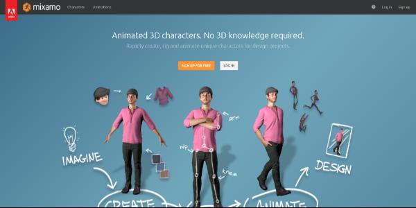 Mixamo – Free 3D assets