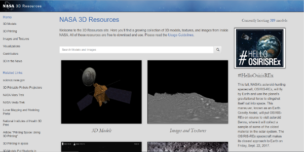 NASA 3D Resources – Free 3D assets