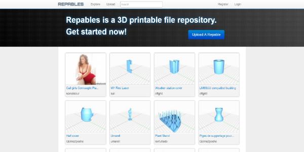 Repables – Free 3D assets