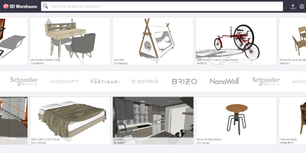 SketchUP 3D Warehouse – Free 3D assets