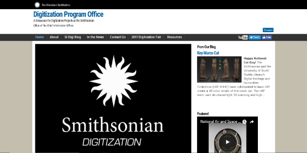 Smithsonian Digitization – Free 3D assets