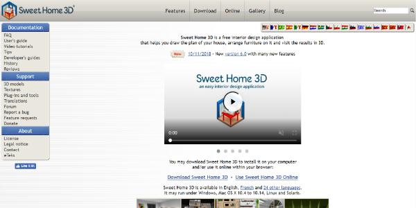 Sweet Home 3D – Free 3D assets