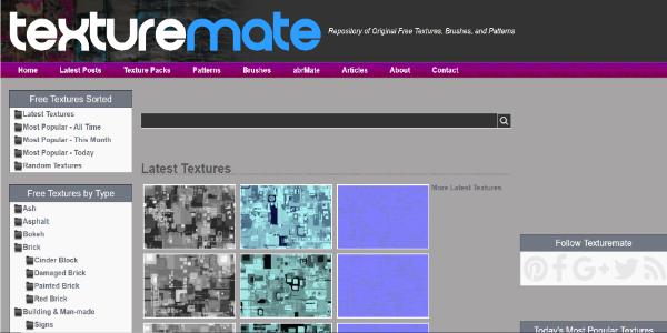 Texturemate – Free 3D assets