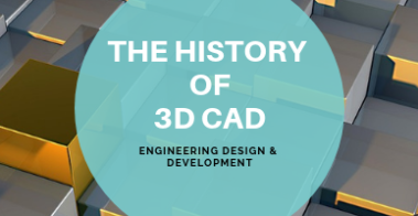 The History and Future of 3D CAD and Modeling