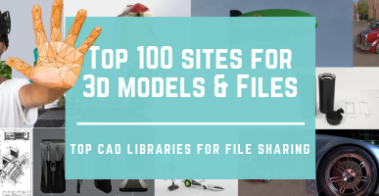 banner-Top 100 Sites for Free 3D Models and CAD Blocks Libraries