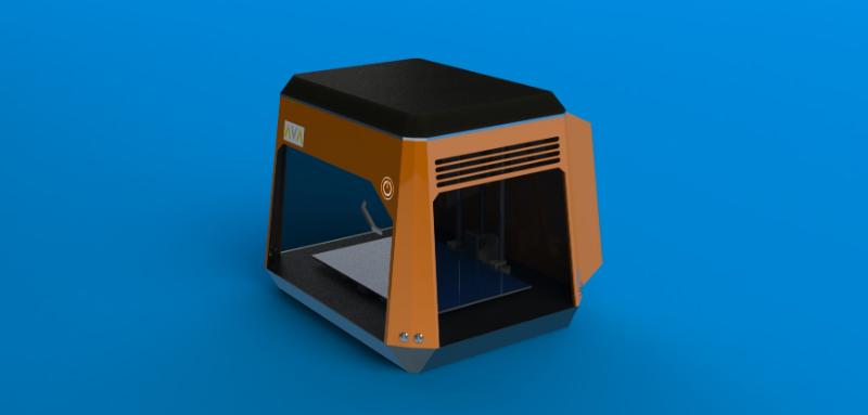 3d printer model ed