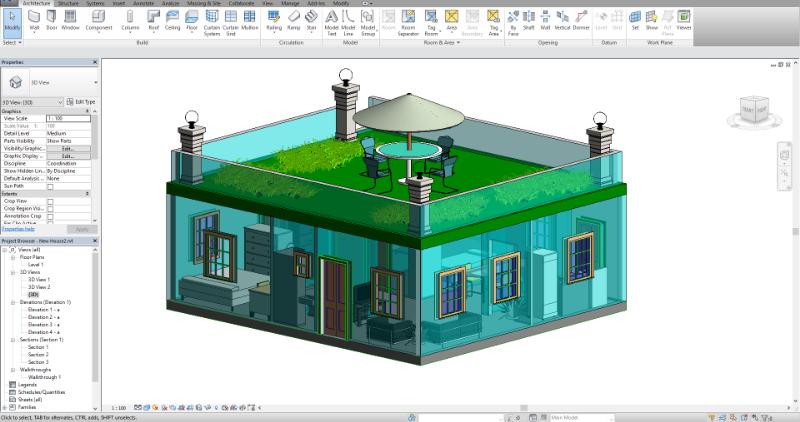 autodesk revit building