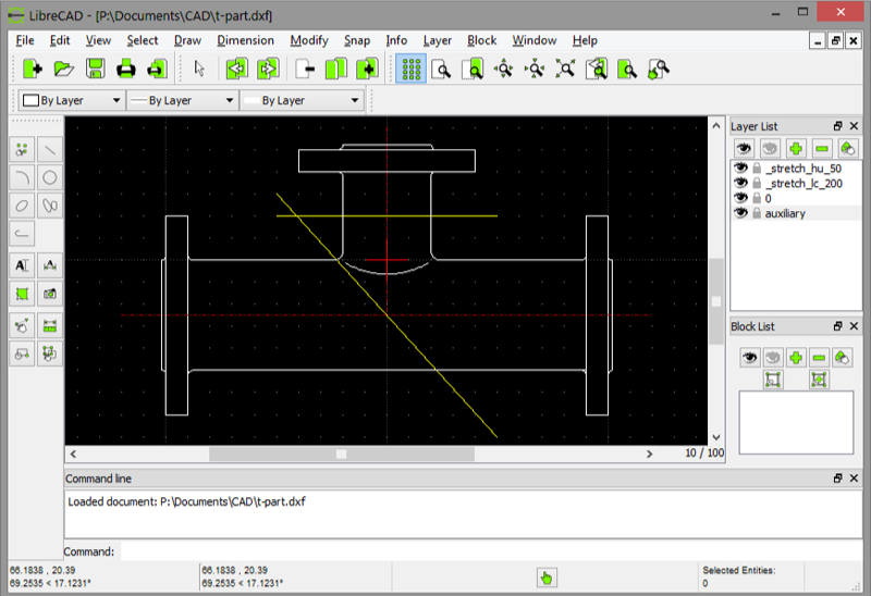 librecad sample