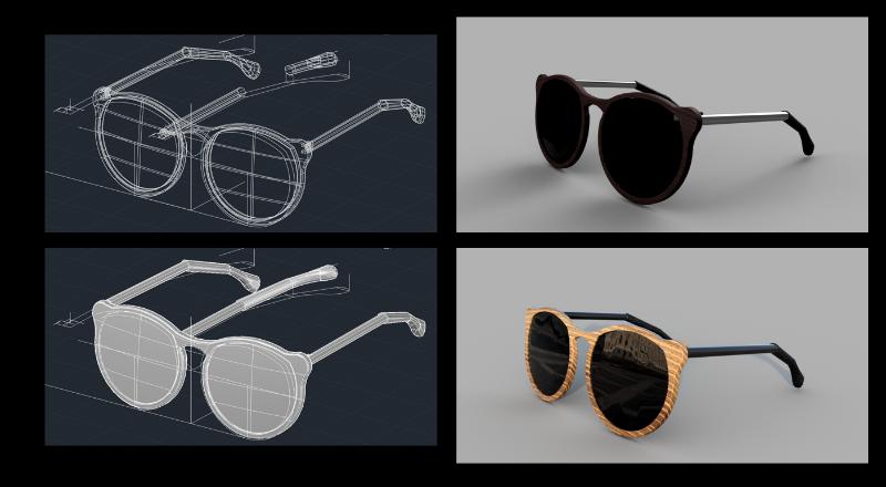 sunglasses prototype