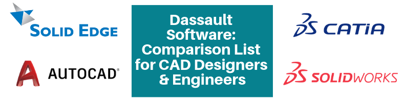 Dassault Software_ Comparison List for CAD Designers & Engineers
