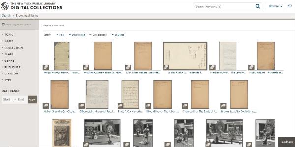 new york digital library