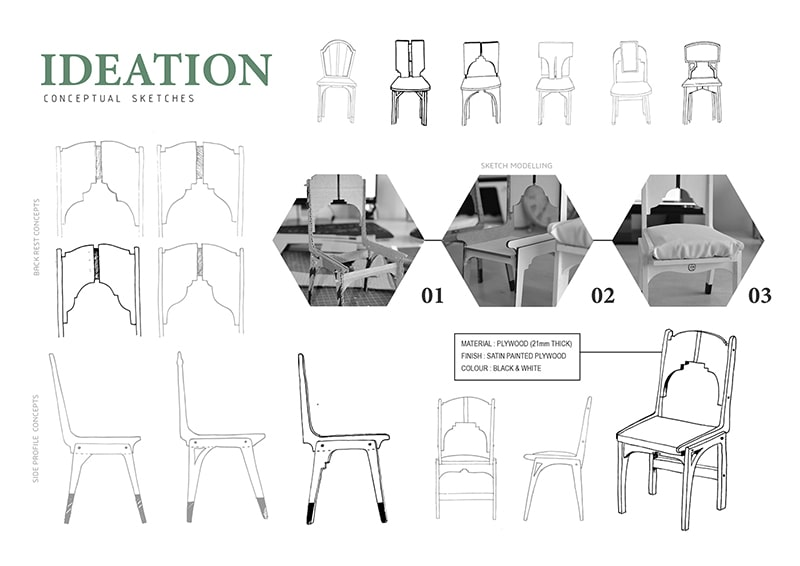 chair sketch new product design