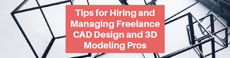 Freelance CAD Design 3D Modeling