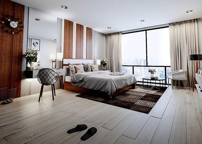 3D Architectural Rendering Bedroom
