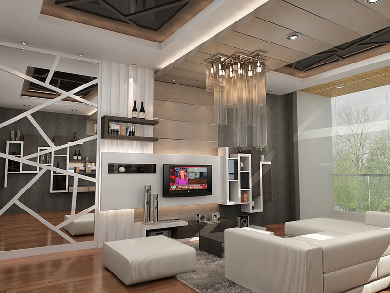 3D Architectural Rendering Residence