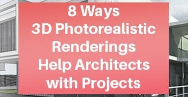 Apartment Complex 3D Photorealistic Rendering Benefits