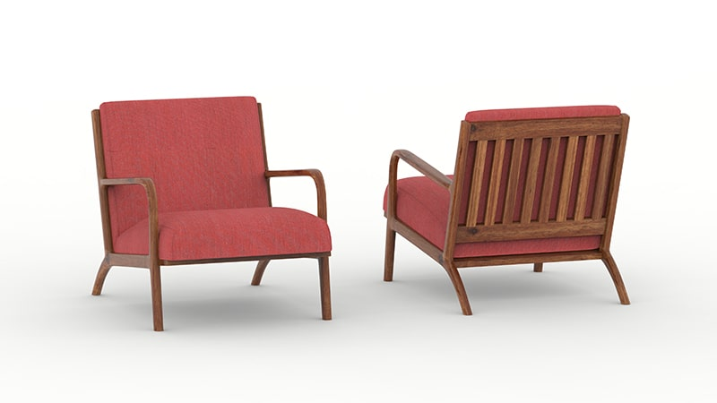 3D Product Rendering Furniture