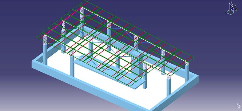 CAD Solar Panel Design