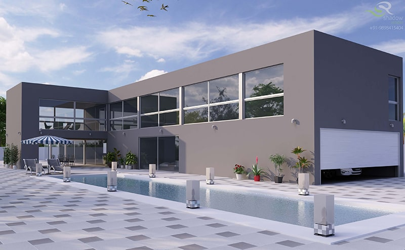 Exterior 3D Photorealistic Rendering Benefits