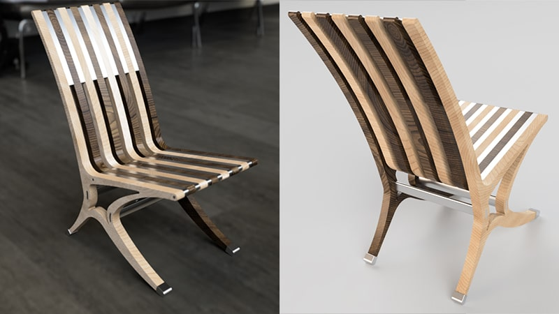 Furniture Marketing Lifestyle vs White Background