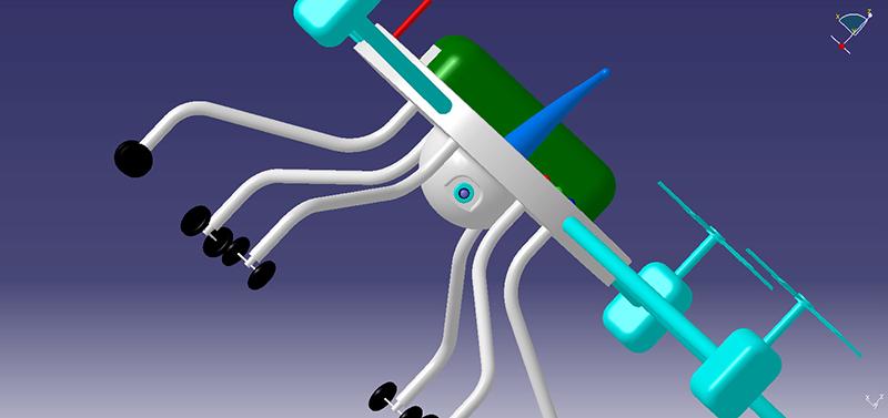Hexa Copter Prototype