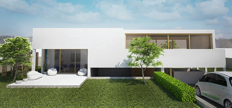 House 3D Photorealistic Rendering Benefits
