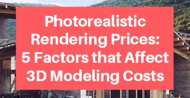 Photorealistic Rendering Prices