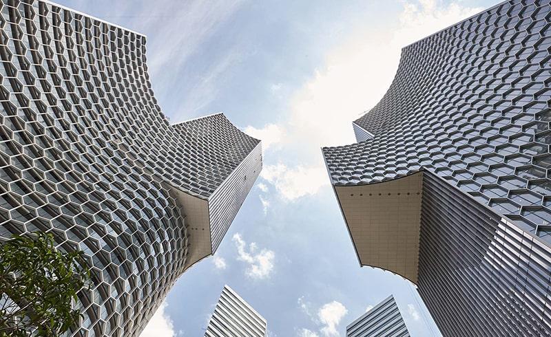 Virtual Reality City Building