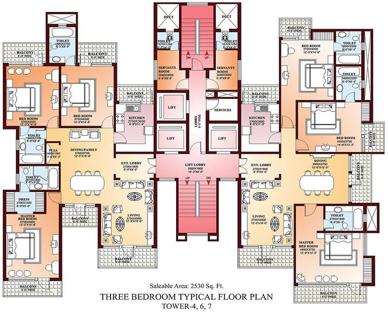 AutoCAD vs Revit Floor Plan