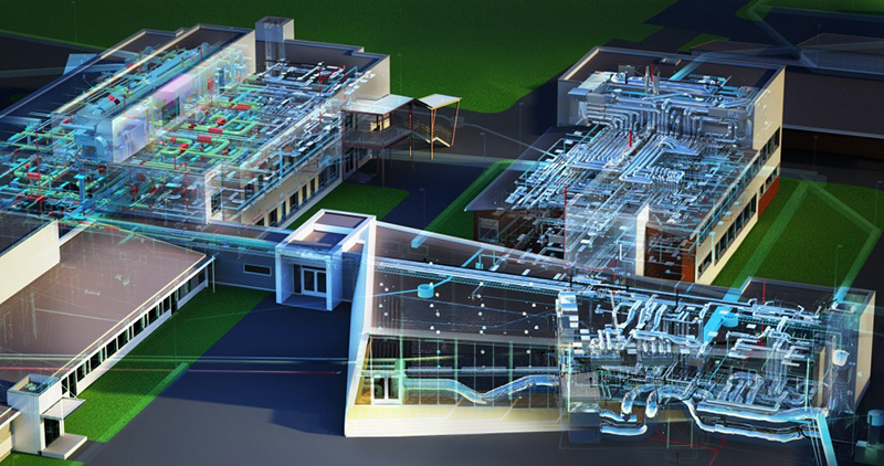 AutoCAD 2D Floor Plan