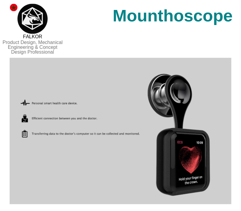 A photo of the Mounthoscope.