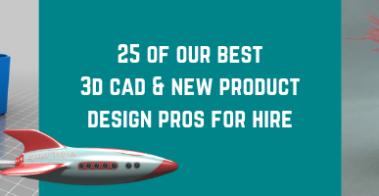 25 3D CAD Header