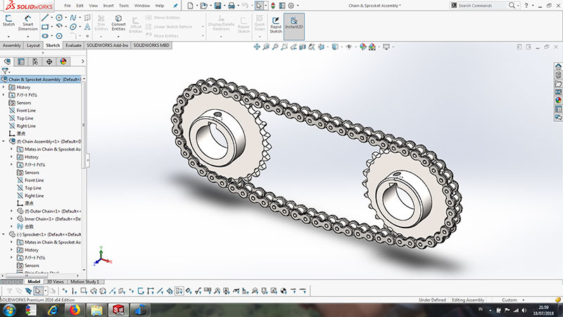 SolidWorks CAD Design Software