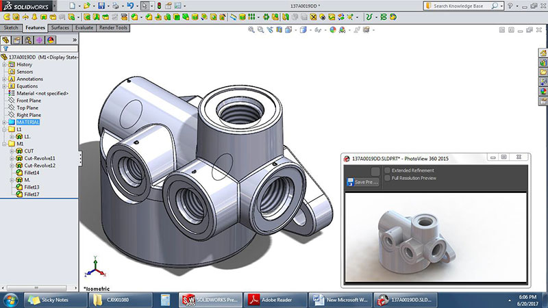 SolidWorks Design Render