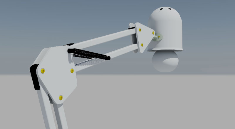 AutoCAD 3D Modeling Robot
