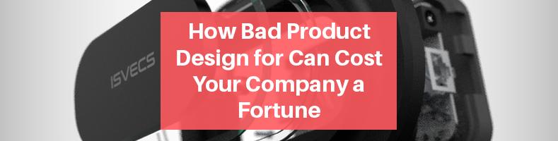 Bad Product Design