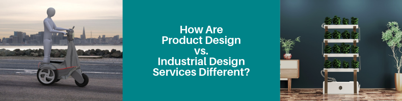 How Are Product Design vs. Industrial Design Services Different?
