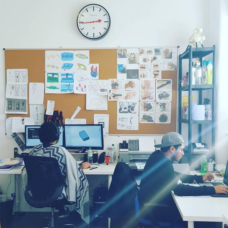 Industrial design team