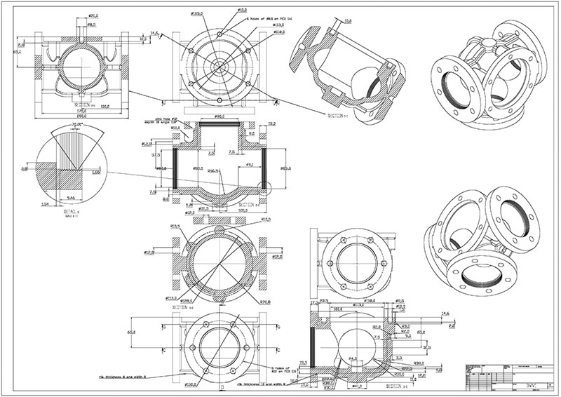 understanding cad services  from 2d drafting to 3d