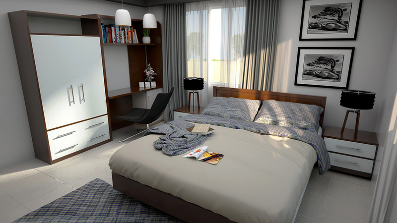 3D-apartment-animation-bedroom