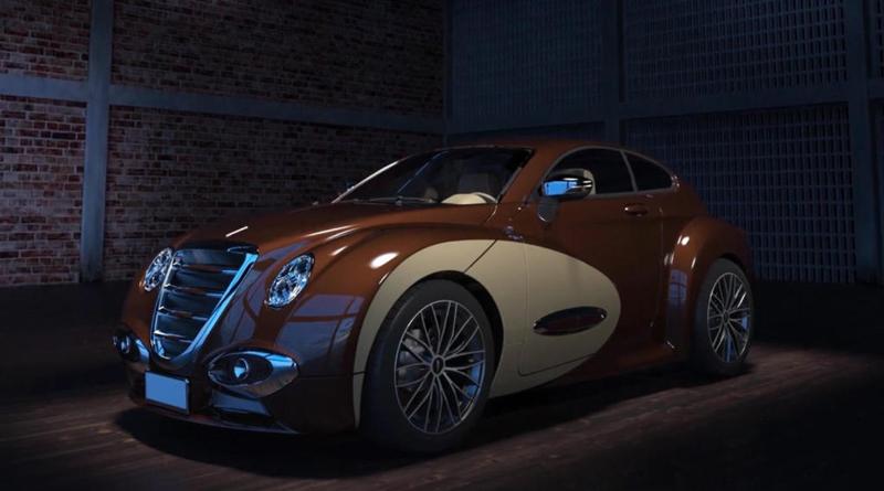 3D-rendering-car