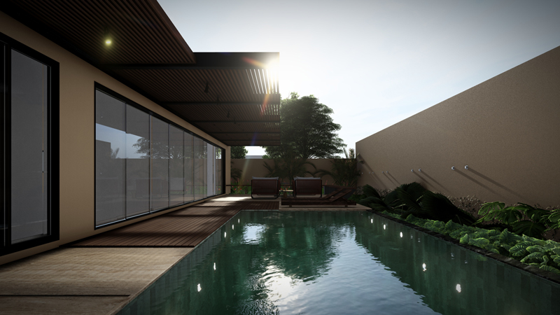 3D-rendering-house-with-pool