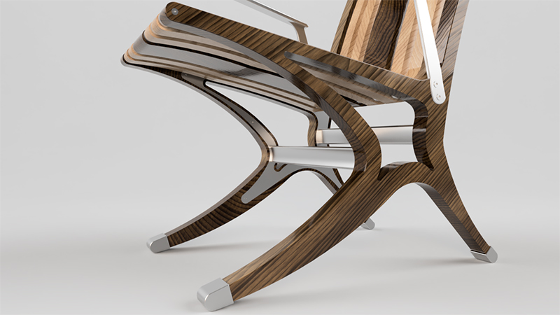 3D-rendering-wooden-chair