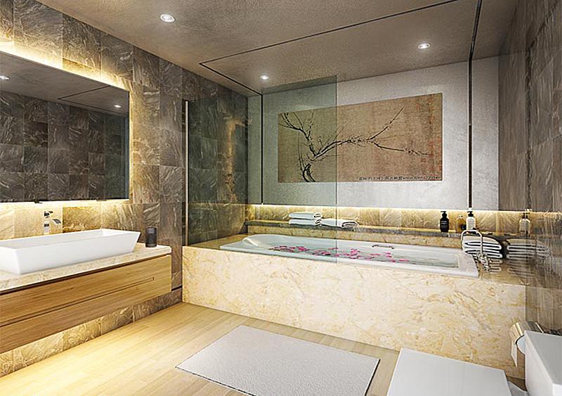 Bathroom-3D-rendering