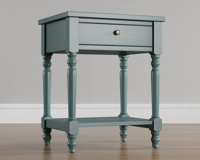 Furniture-nightstand-3D-rendering