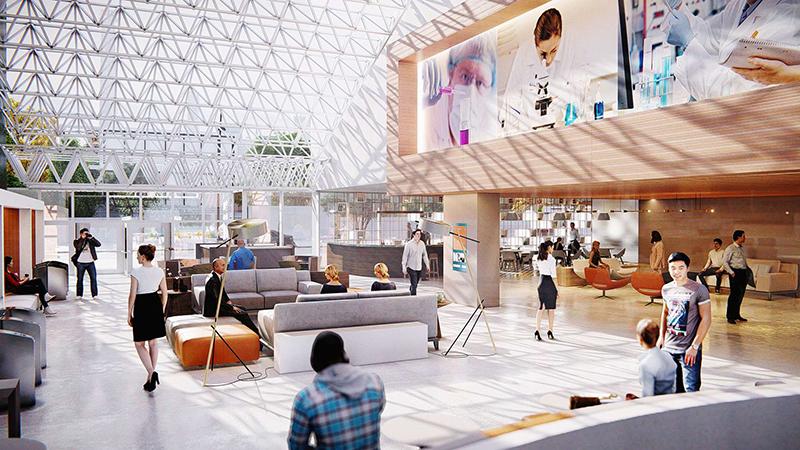Hospital-Interior-3D-rendering